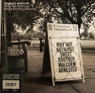 "Richard Ashcroft ‎- Why Not Nothing?/Sweet Brother Malcolm (7"") (NM/NM)"